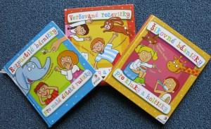 6.knížka:  Suchá, R.: Rozpustilé básničky pro malé dětské ručičky